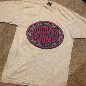 Vintage 1993 Country Jam Tour Tee